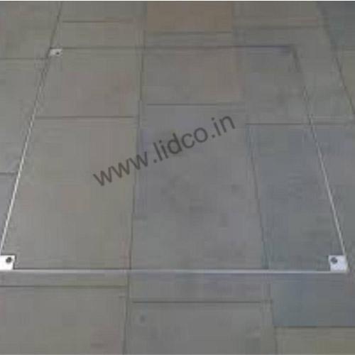 Recessed Manhole Cover Installation
