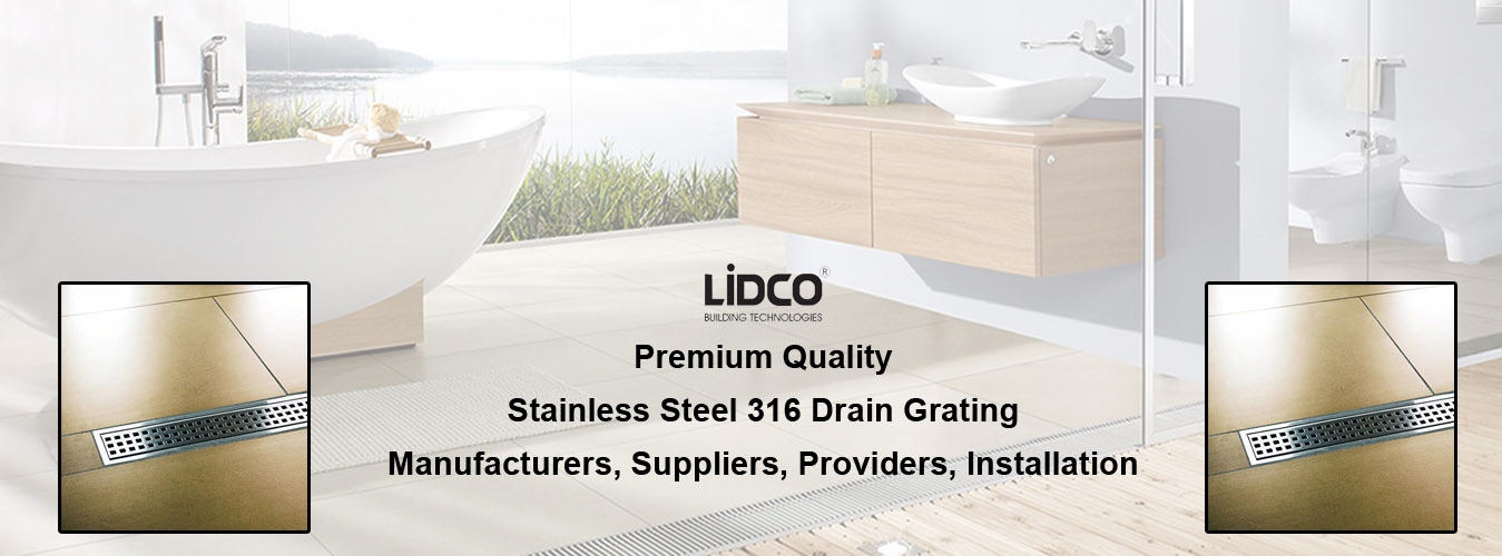 Stainless Steel 316 Drain Grating