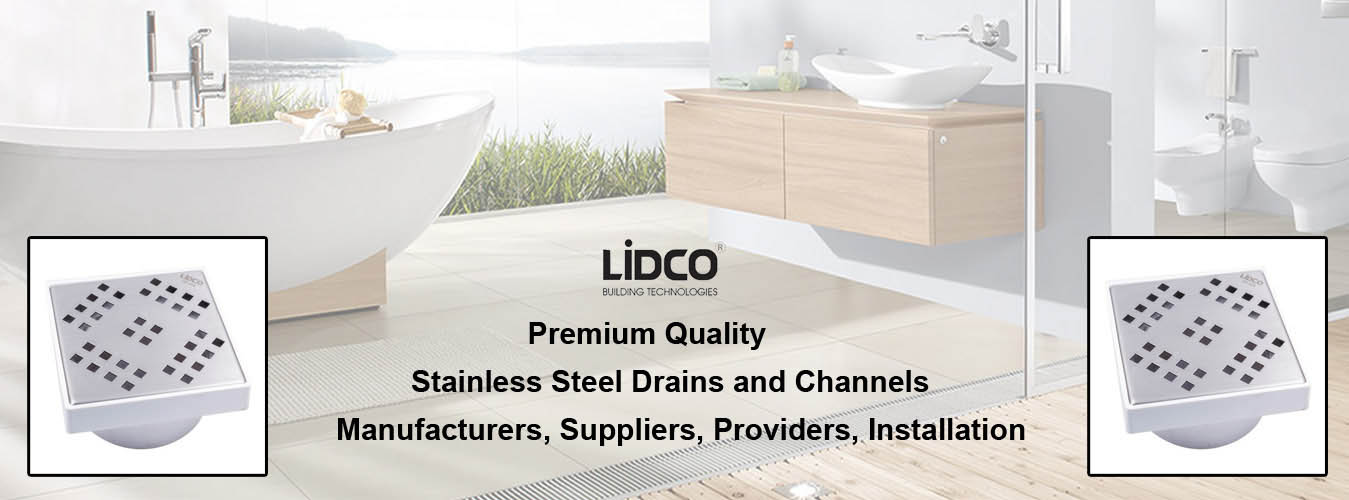 Stainless Steel Drains and Channels